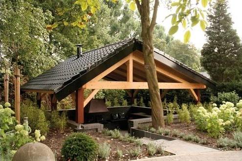 Gartenhaus Outdoor Küche : Gartenhäuser maag holz und bau